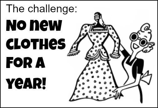 no new clothes challenge
