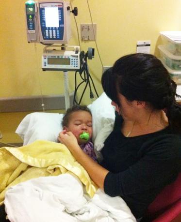 Gabriel in the hospital