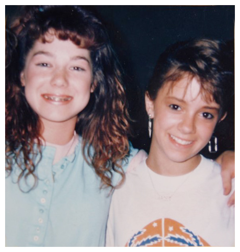 Lisa and Jamie 1987