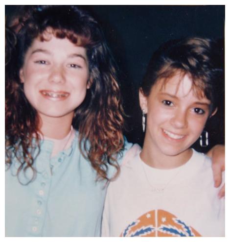 Lisa and Jamie 1987