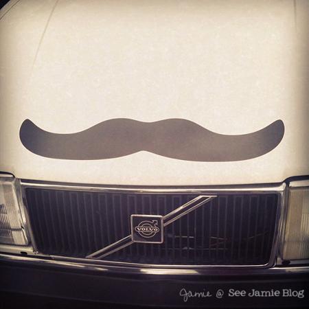 Mustache Volvo