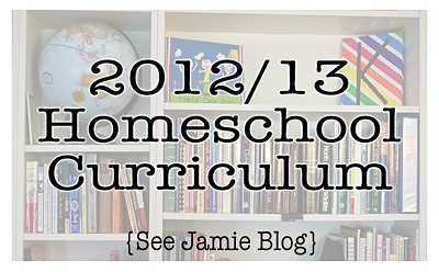 2012 Homeschool Curriculum Plans
