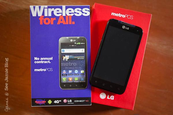 MetroPCS smartphone