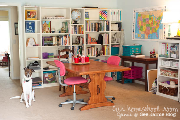 homeschool room 2012