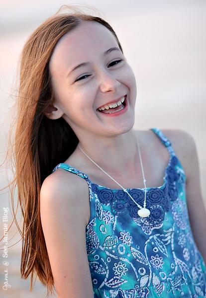 Kathryn Laugh Beach 2012