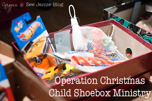 Christmas Shoebox Ministry.Packing Our Occ Shoeboxes See Jamie Blog