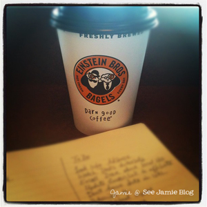 coffee and to-do lists