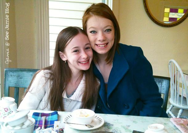 Sisters at Tea