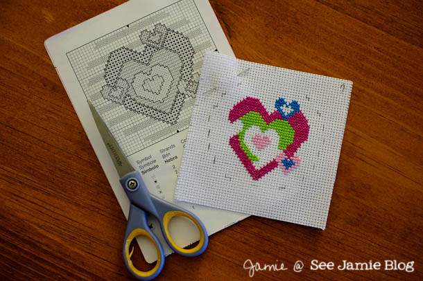 learning counted cross-stitch