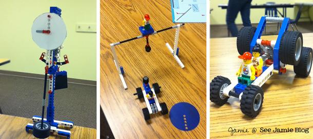 LEGO mechanics projects