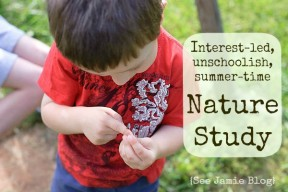 UnschoolNatureStudy