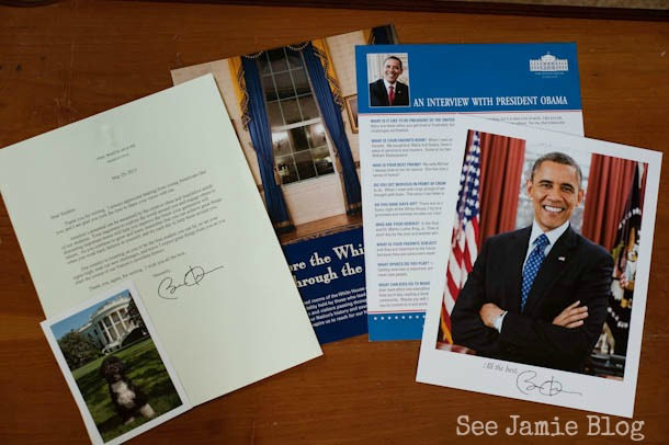mail from the White House