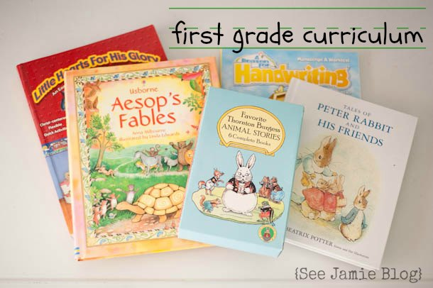1stGradeHomeschoolBooks