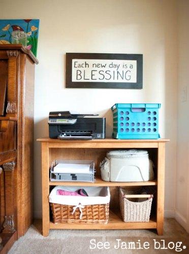 Schoolroom Printer Shelf
