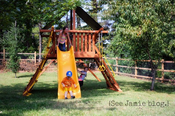Homeschool Outdoor play at See Jamie blog