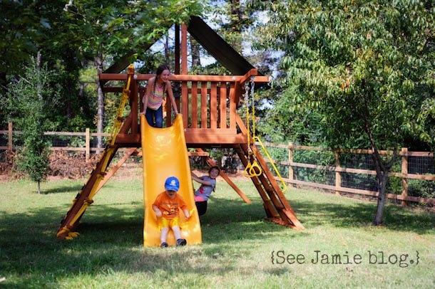 Homeschool Outdoor play at See Jamie blog