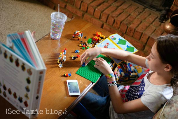 Minifig Movie Making