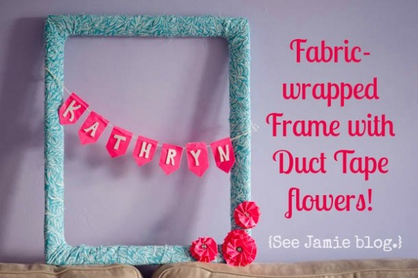 Fabric Wrapped Frame