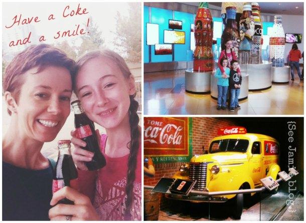 World of Coca Cola homeschool field trip
