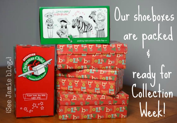 9 Reasons to Pack a Shoebox!