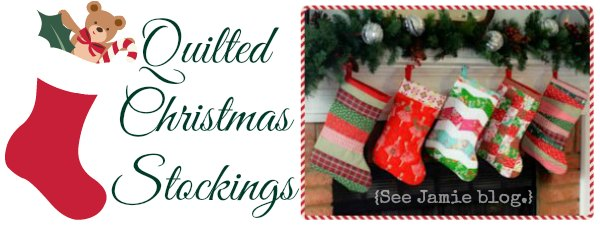 DIY Quilted Christmas Stockings