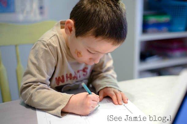 preschool Bible study