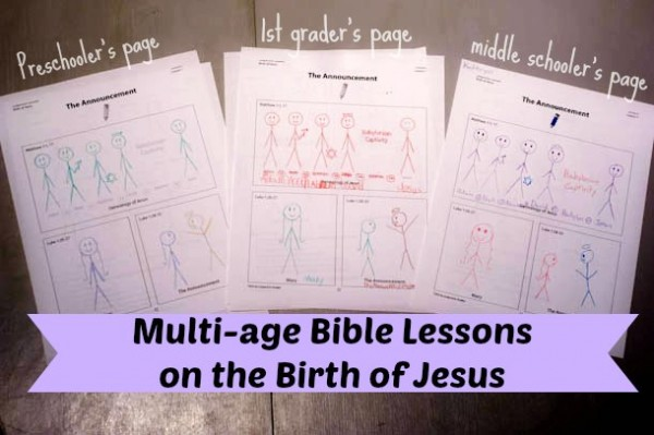 Birth of Jesus Bible Lessons for All Ages
