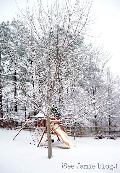 snowy playset