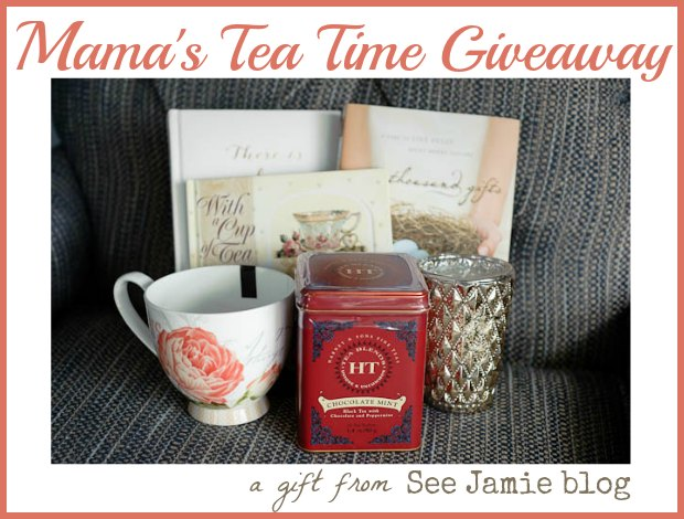 Tea Time Giveaway