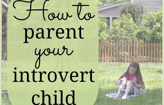 how to parent an introvert child