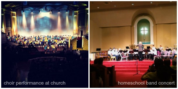 choir and band concert