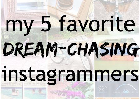 5 favorite instagrams to follow