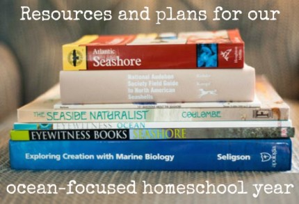 ocean focused homeschool year