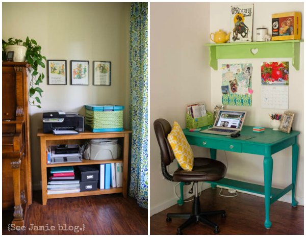 homeschool mom office