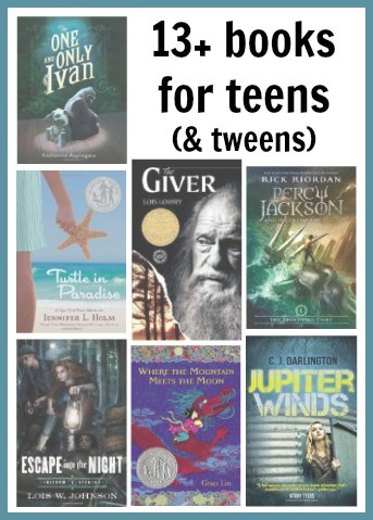 13+ Books for Teens (and tweens)