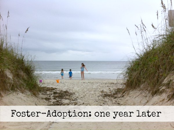 Foster Adoption: one year later
