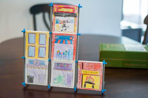 kiwi crate skyscraper city craft project