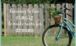 live simply   See Jamie blog