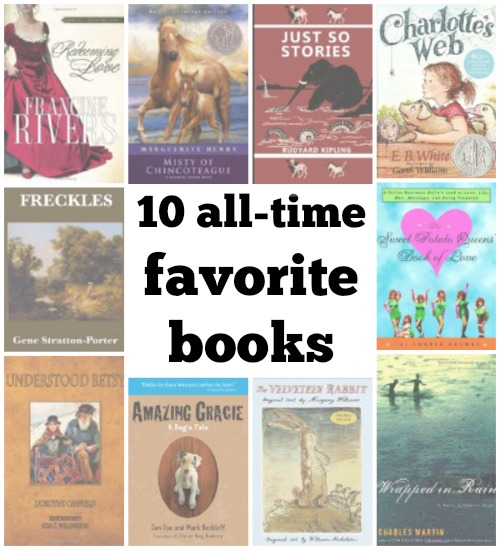 10 favorite books