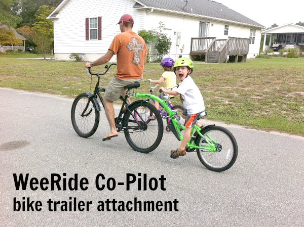 WeeRide Co Pilot bike trailer