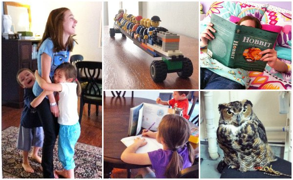 homeschool moments