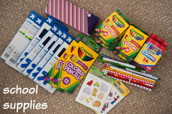 items to pack in OCC shoebox