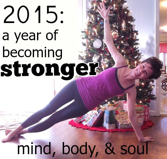 a year of becoming stronger