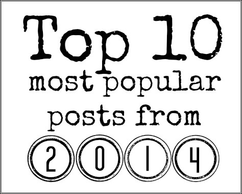 most popular posts on See Jamie Blog from 2014