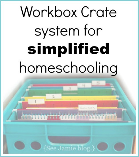 Workbox Crate: simplified homeschooling