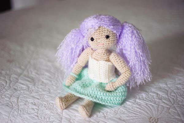amigarumi doll crochet by Kathryn
