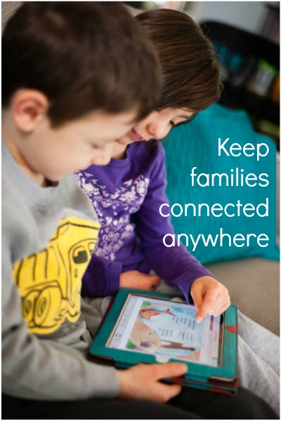 keep families connected with HomeTeam