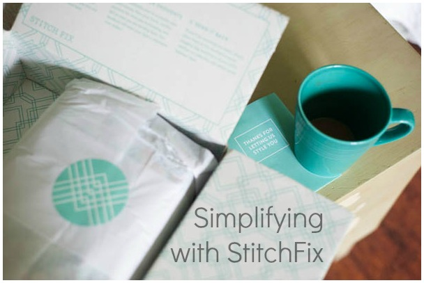 simplifying with stitch fix