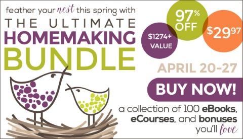 ultimate homemaking bundle (affiliate link)