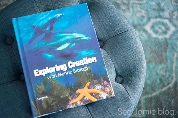 Using Apologia's Marine Biology in a relaxed homeschool